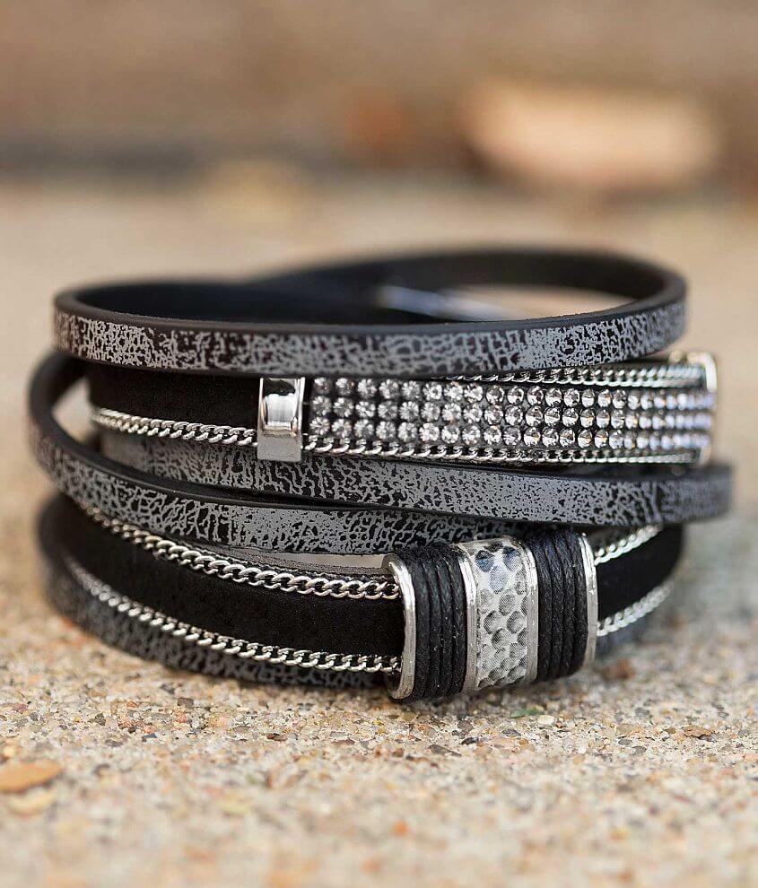 Festive Wrap Bracelet front view