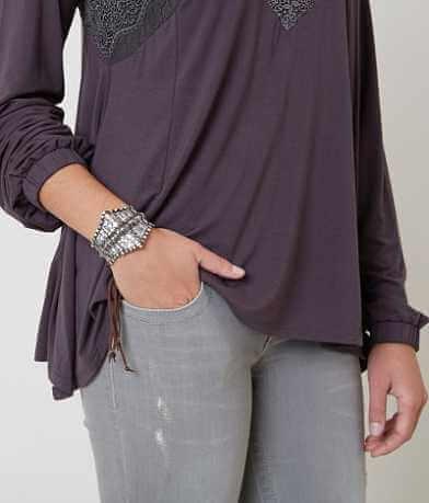 BKE Embossed Bracelet