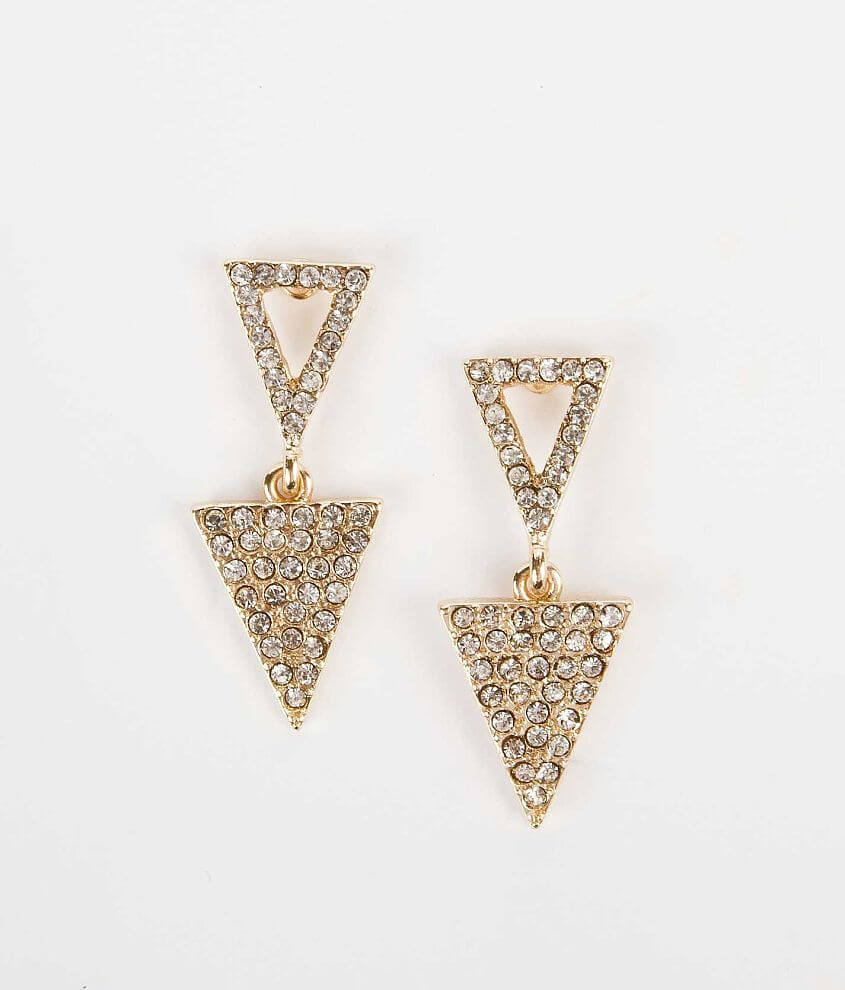 BKE Triangle Earring front view
