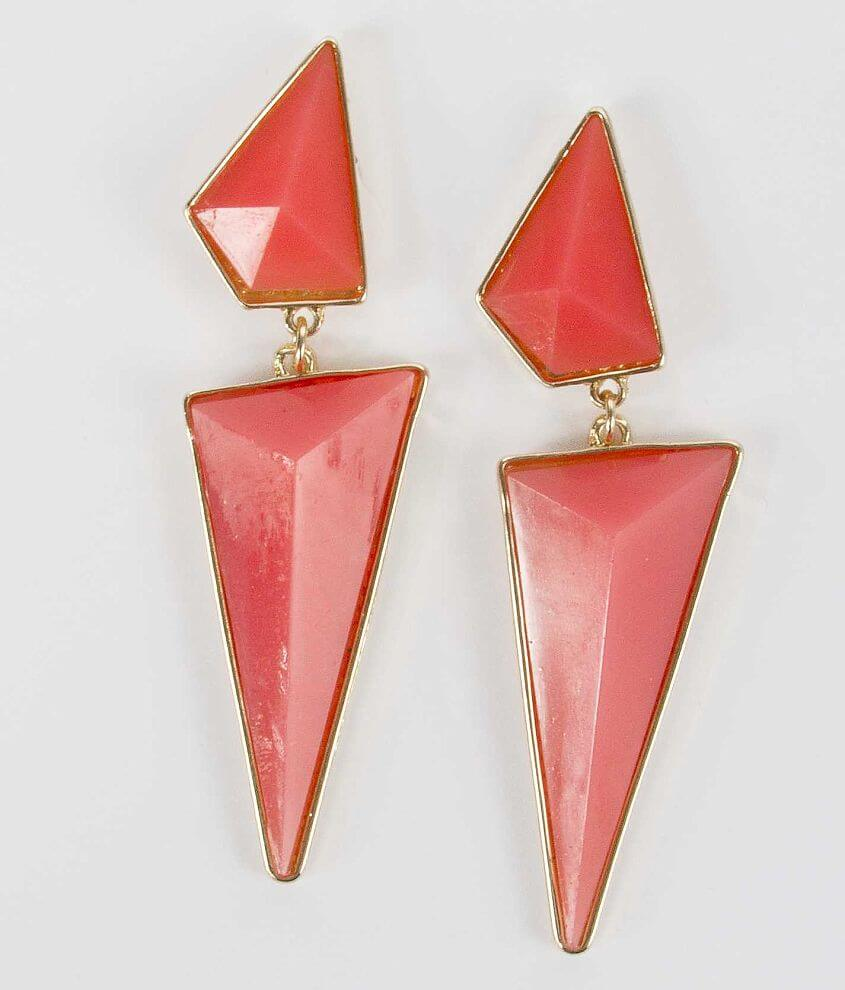BKE Chunky Stone Earring front view