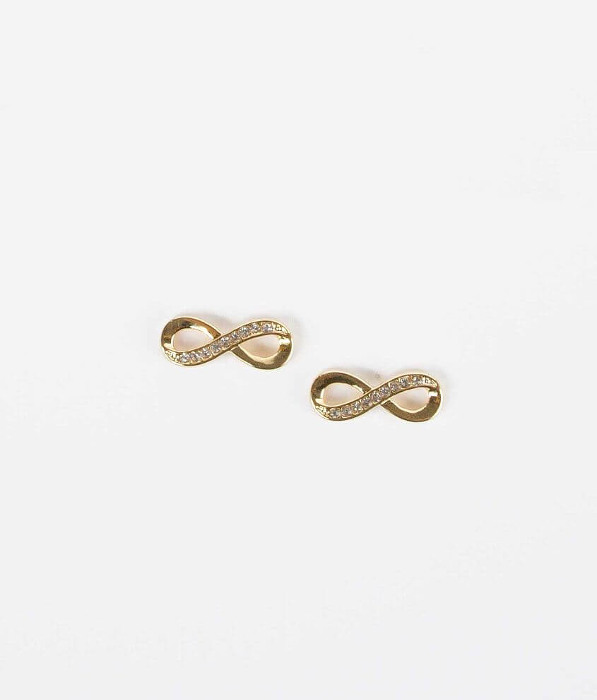 Daytrip Infinity Earring front view