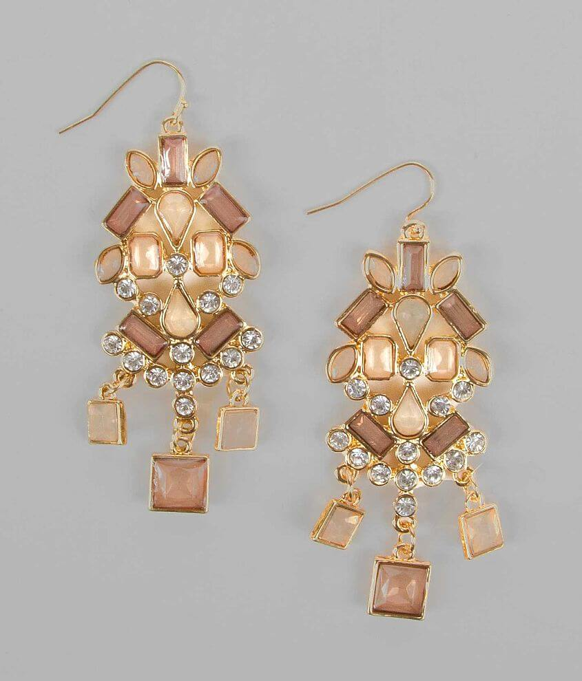 BKE Cluster Earring front view