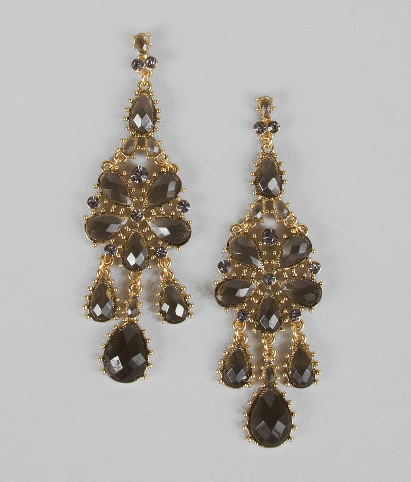 BKE Floral Earring front view