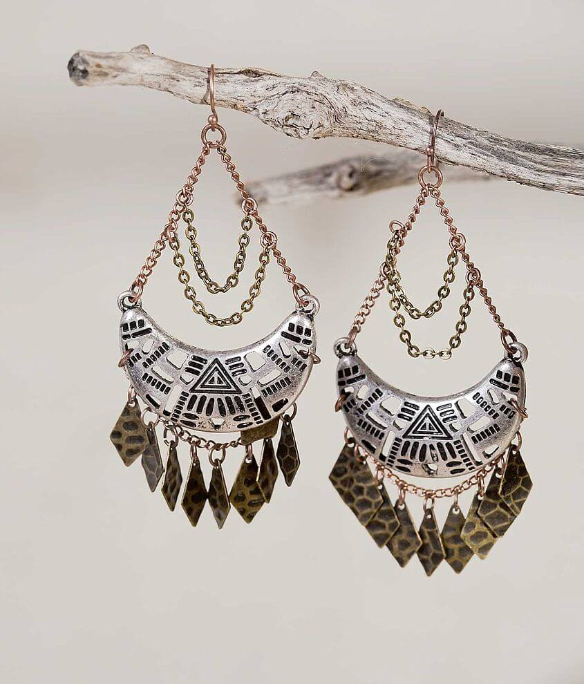 Gimmicks by BKE Chandelier Earring front view