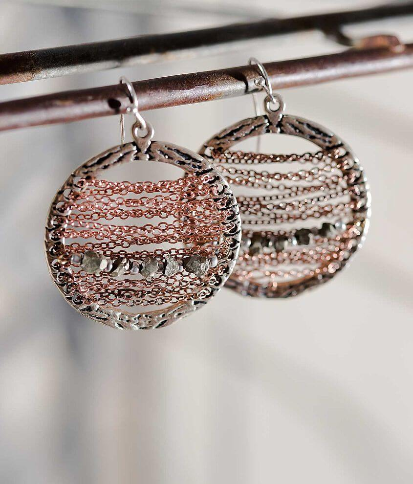 Gimmicks by BKE Circle Earring front view