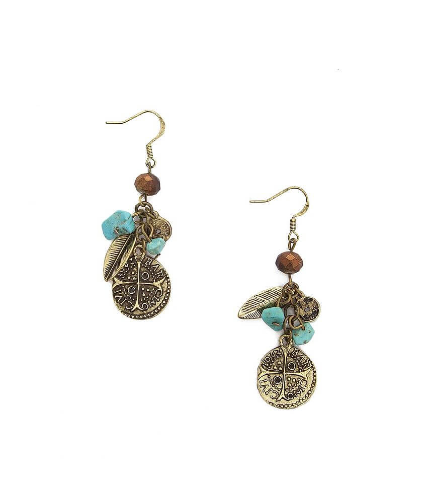 BKE Charm Earring front view