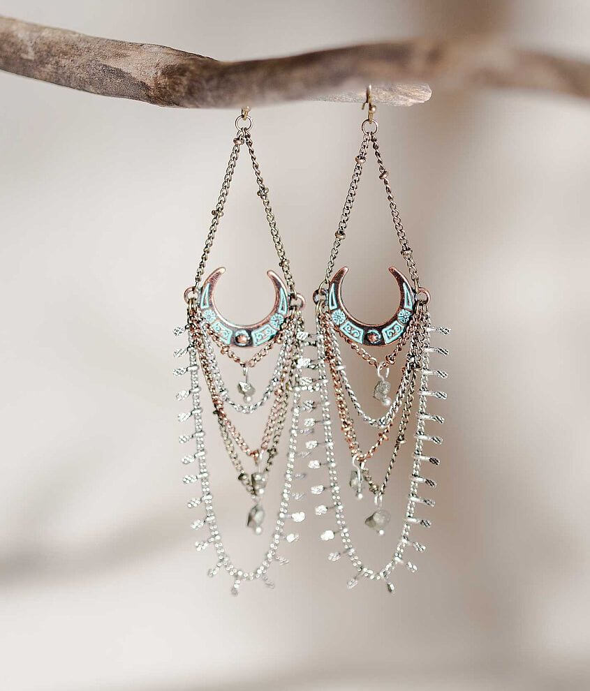 Gimmicks by BKE Stone Earring front view
