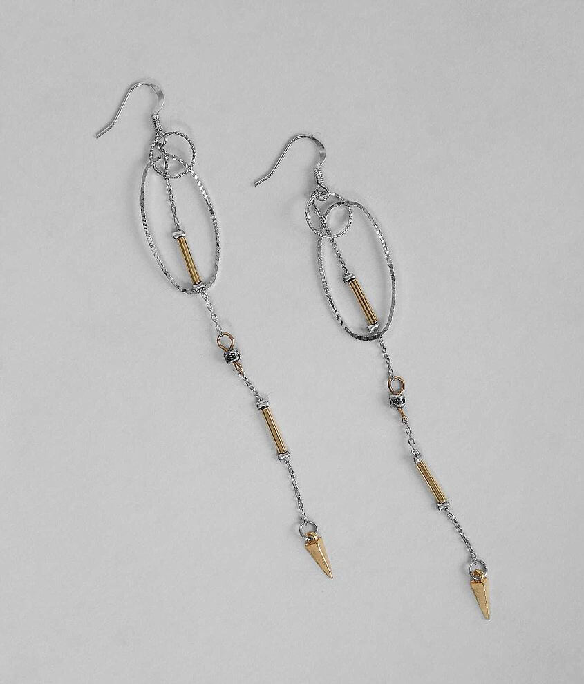 BKE Textured Earring front view