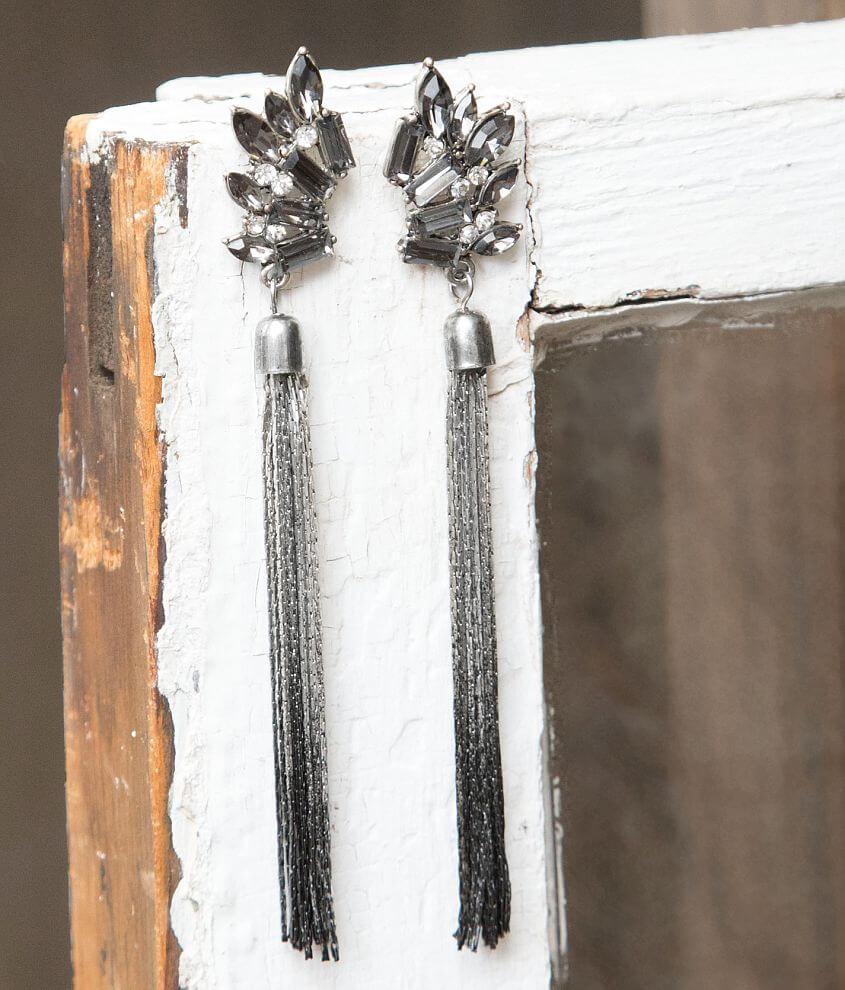 BKE Fringe Earring front view