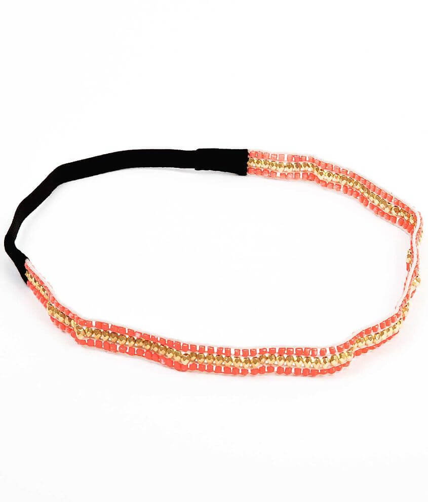 Daytrip Beaded Headband front view
