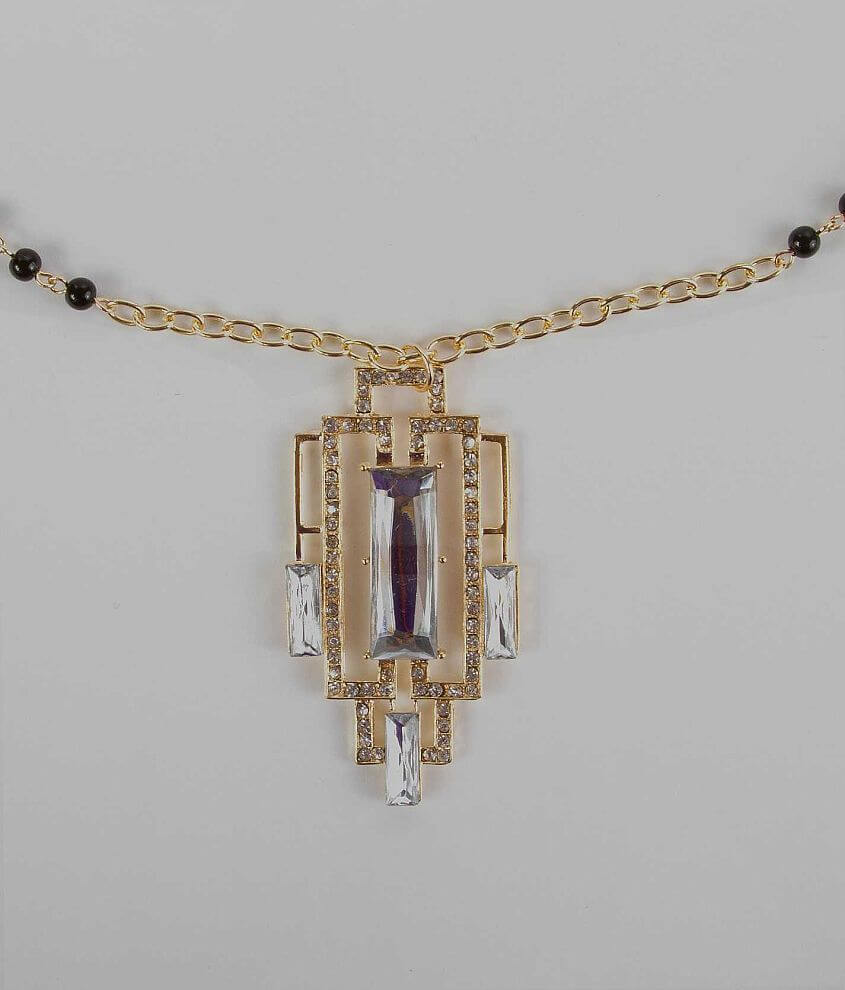 BKE Long Chain Necklace front view