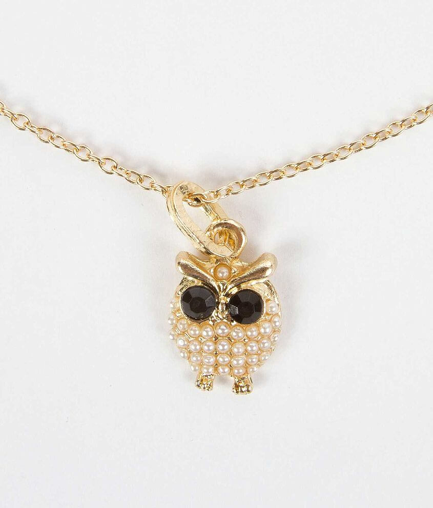 Daytrip Owl Necklace front view