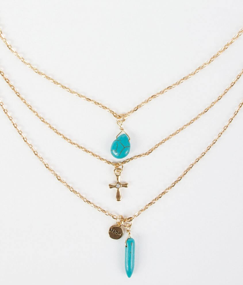 BKE Dainty Necklace front view