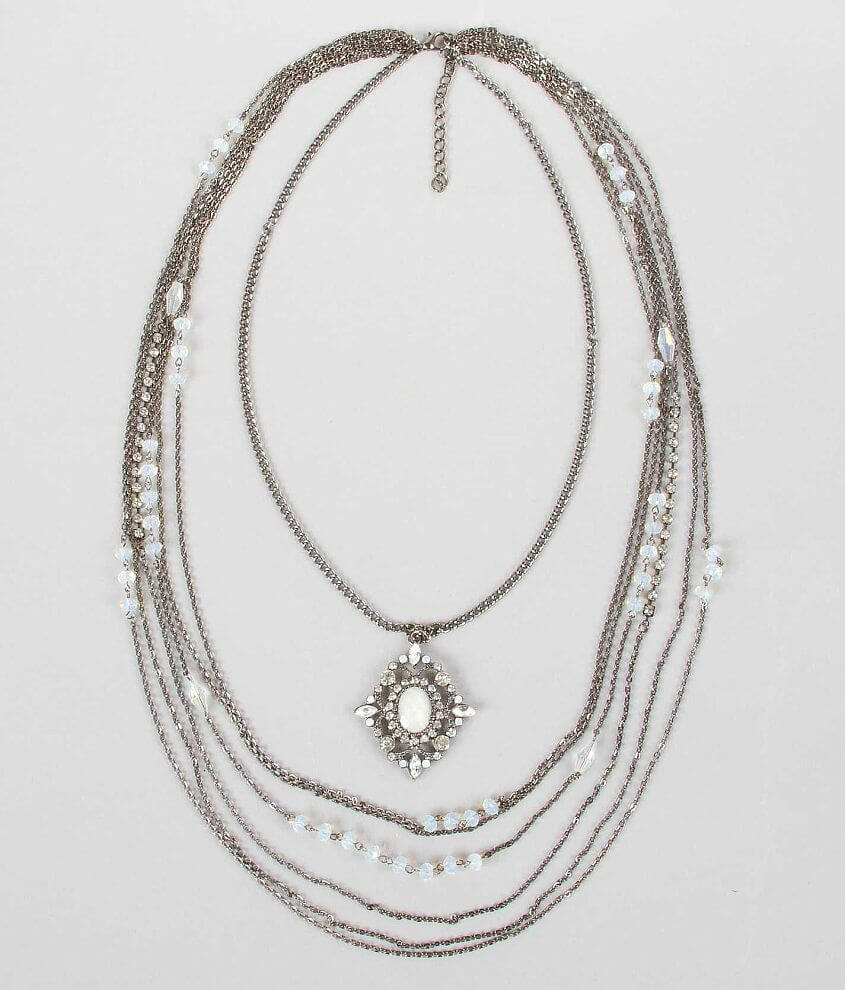 BKE Tiered Necklace front view