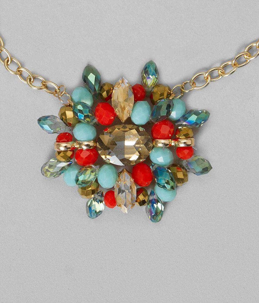 BKE Cluster Necklace front view