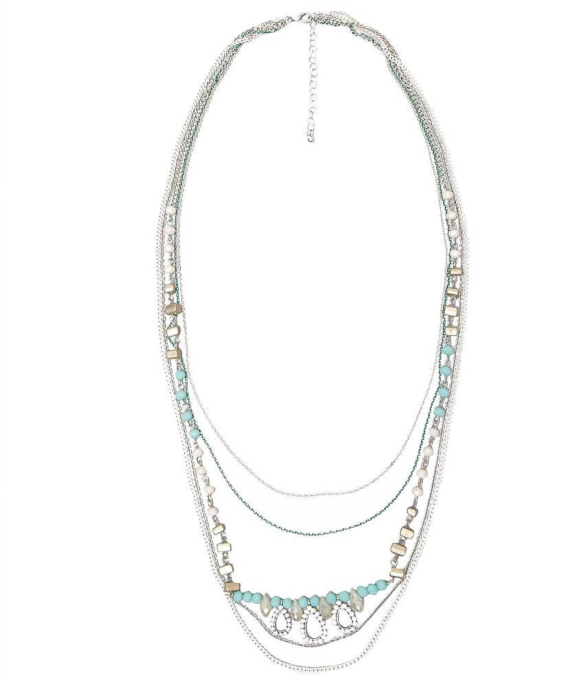 BKE Multi Chain Necklace front view