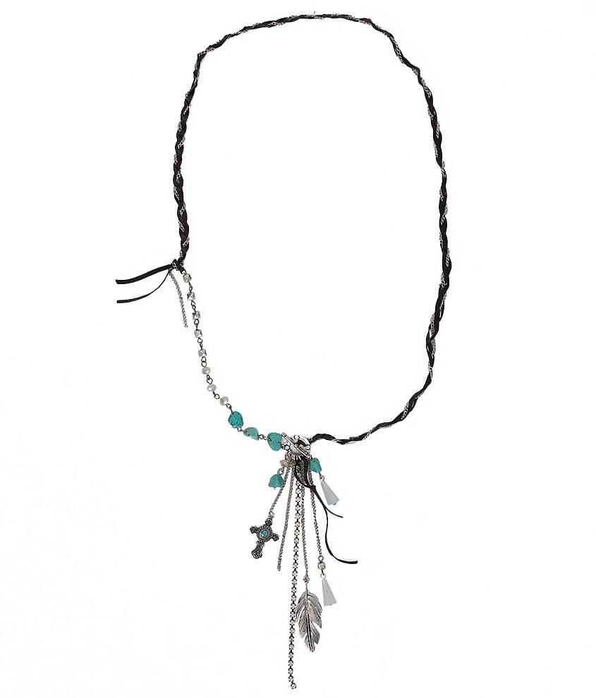 BKE Pendant Necklace front view