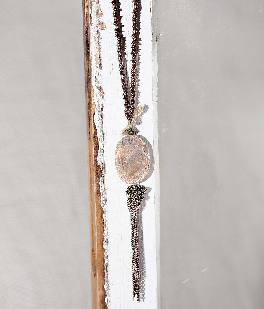 Gimmicks by BKE Stone Necklace front view