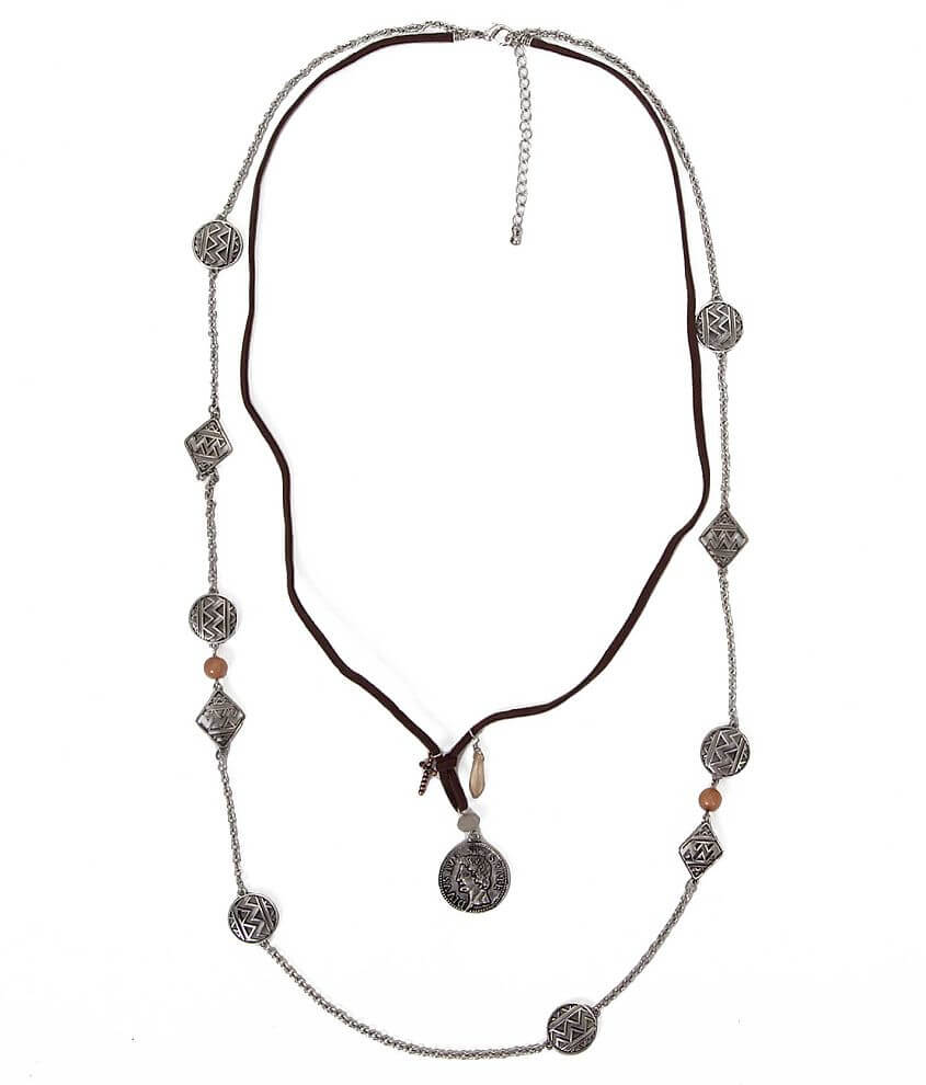 Festive Tiered Necklace front view