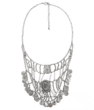 Festive Engraved Pendant Necklace