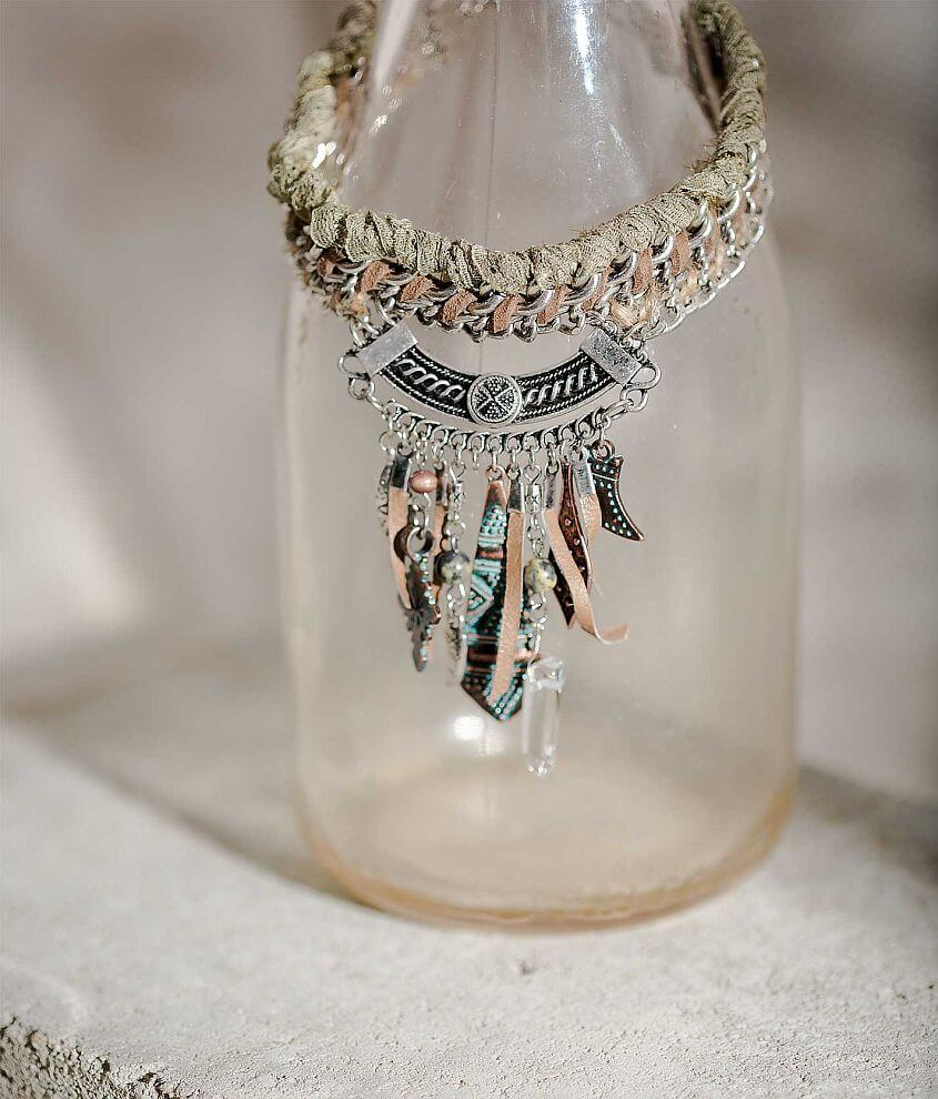 Gimmicks by BKE Braided Necklace front view