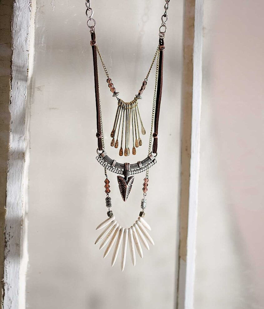 Gimmicks by BKE Pendant Necklace front view
