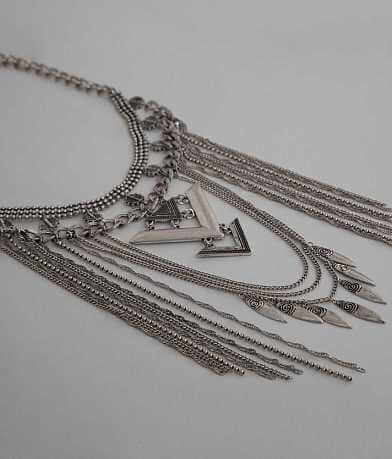 Festive Fringe Necklace