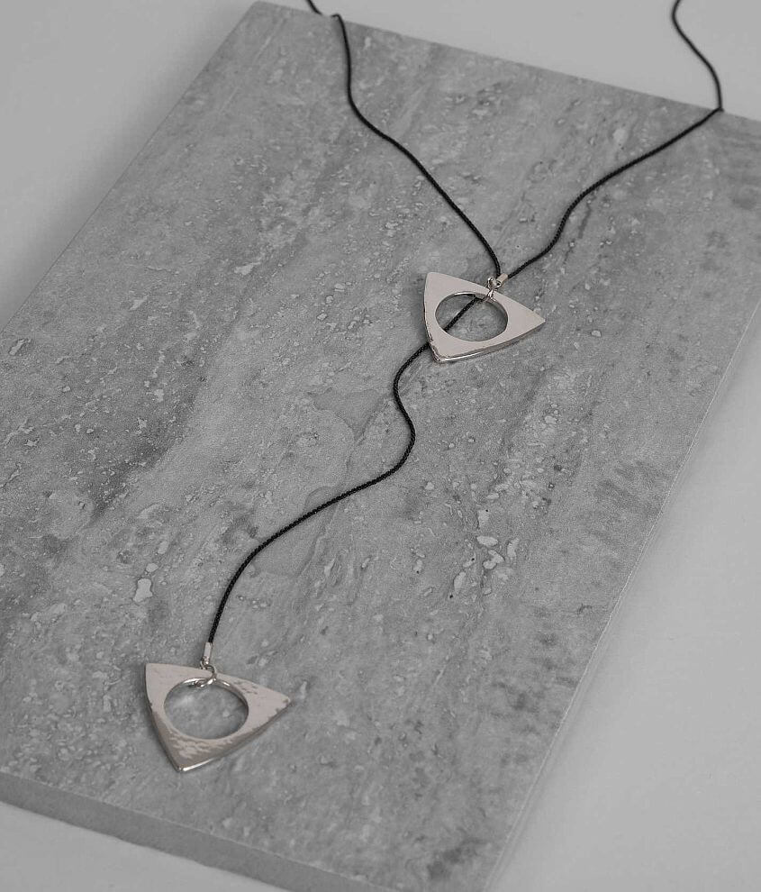 BKE Triangle Necklace front view