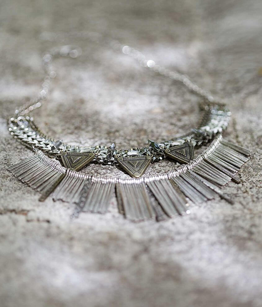 Gimmicks by BKE Statement Necklace front view