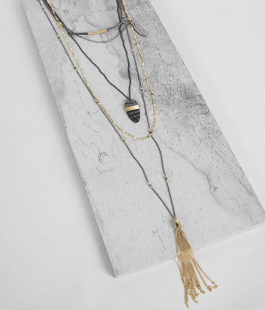 Festive Pendant Necklace front view