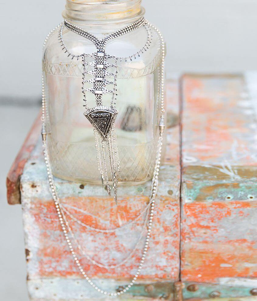 Gimmicks by BKE Layered Necklace front view