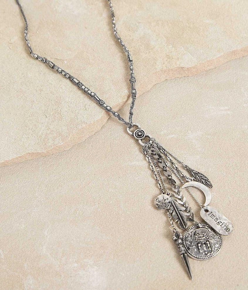 Festive Charm Necklace front view