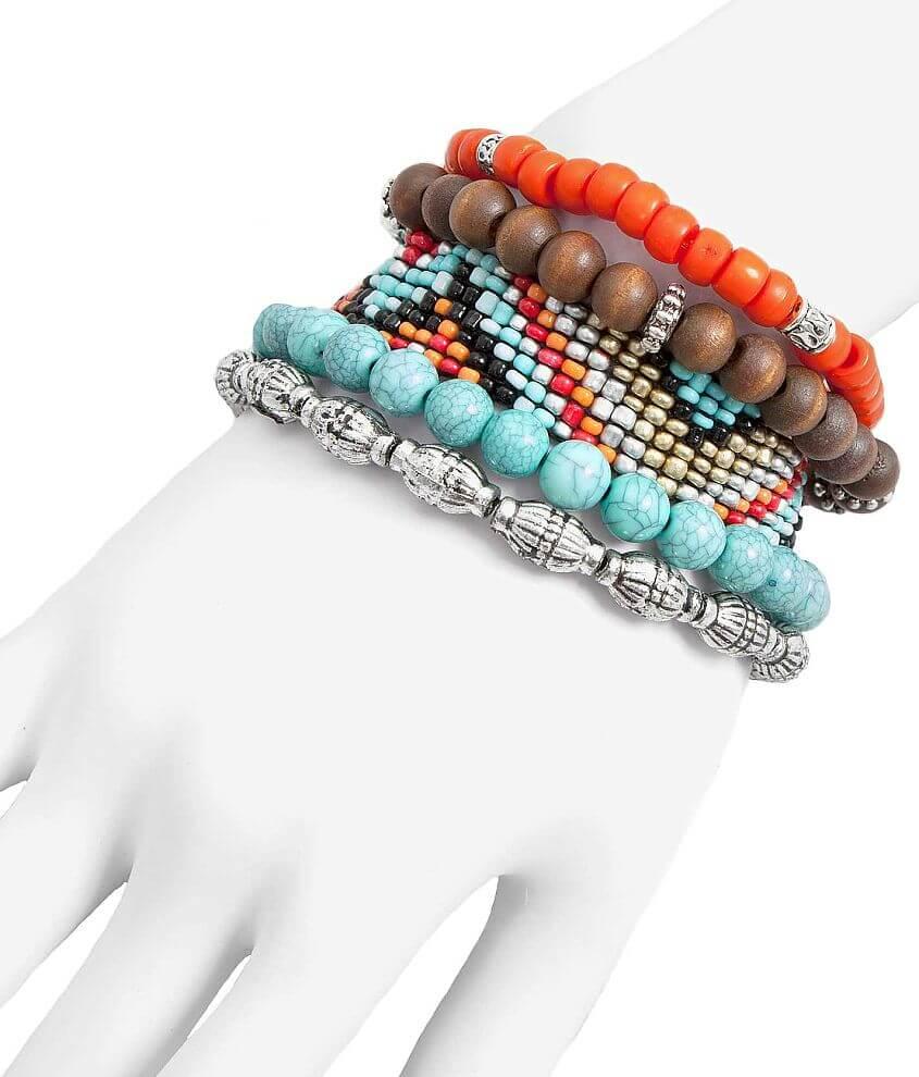 BKE Mixed Bracelet Set front view
