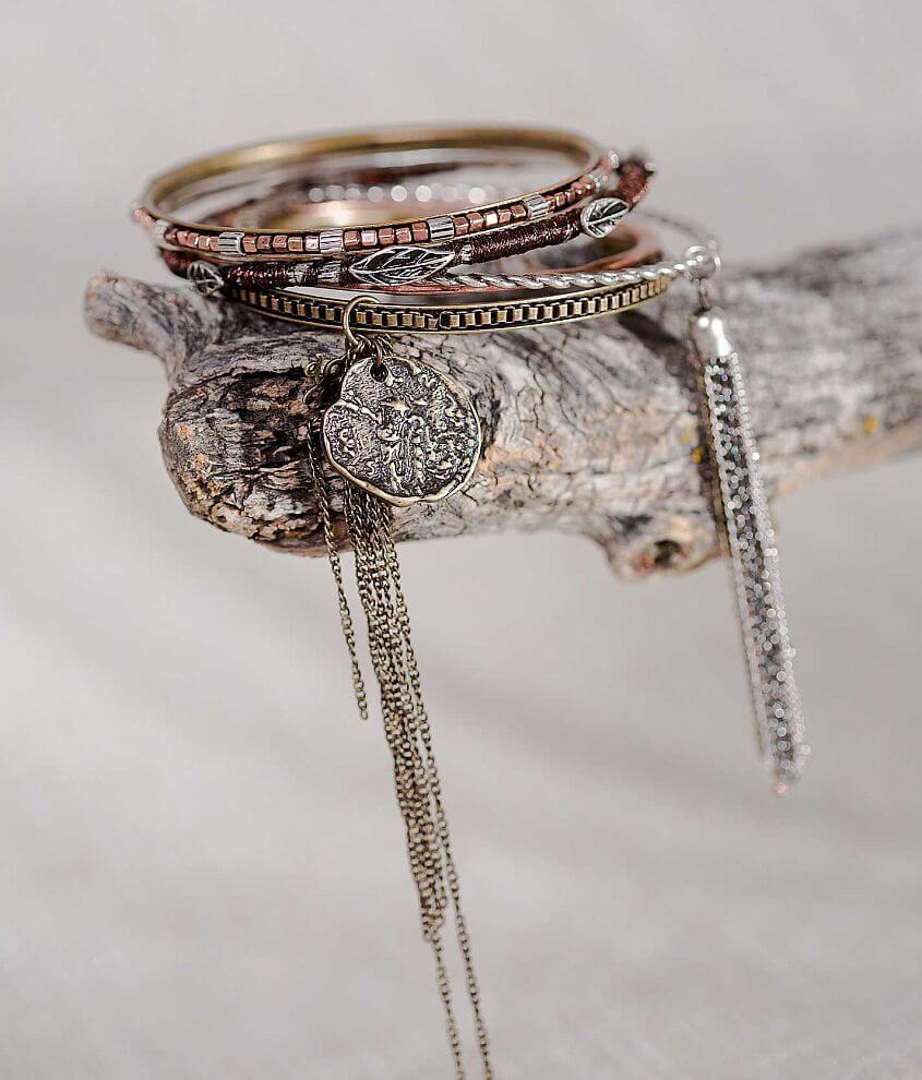 Gimmicks by BKE Bangle Bracelet Set front view