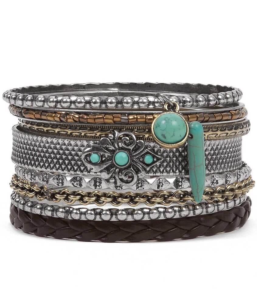 Daytrip Bangle Bracelet Set front view