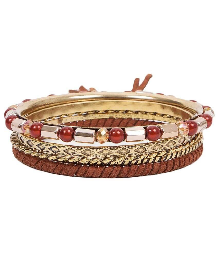 Festive Bangle Bracelet Set front view