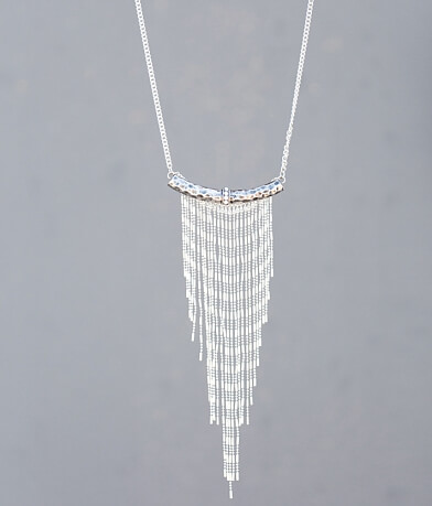 BKE Hammered Necklace