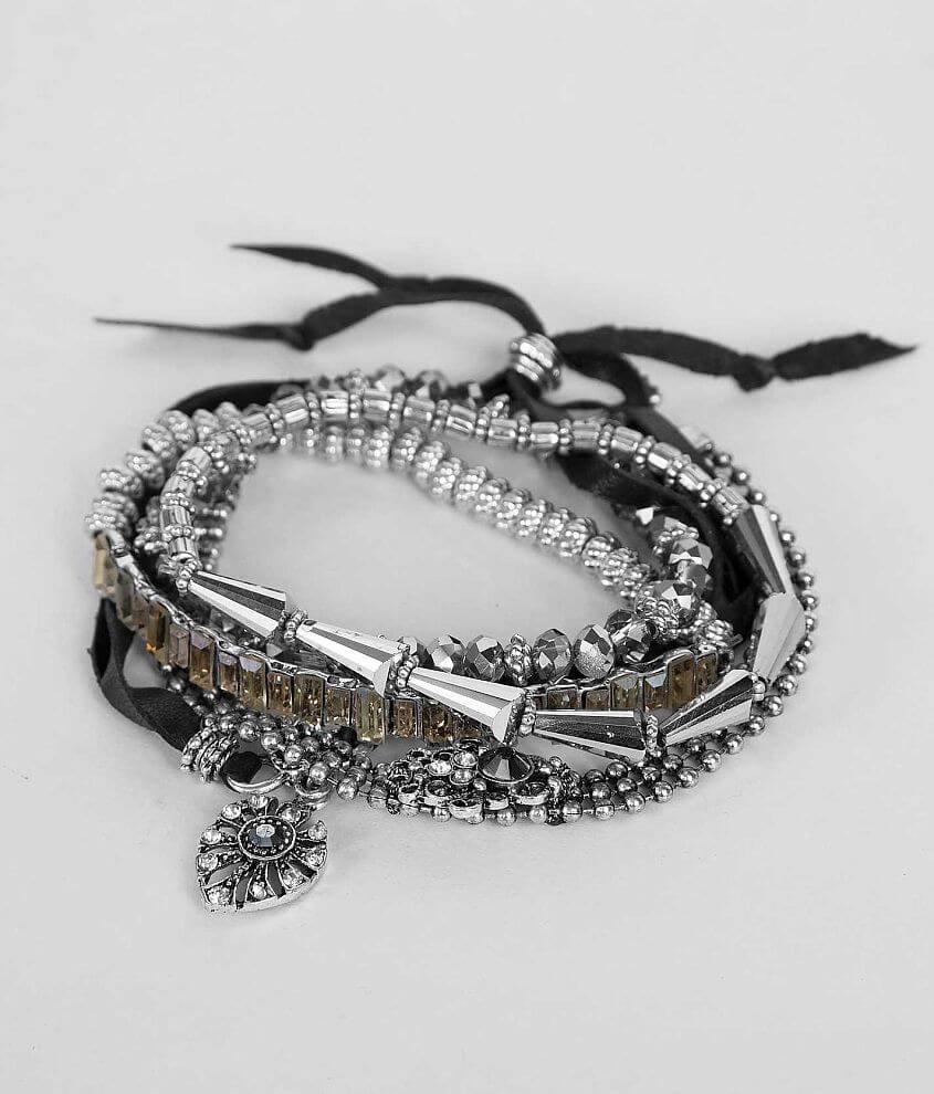 Festive Glitz Bracelet Set front view