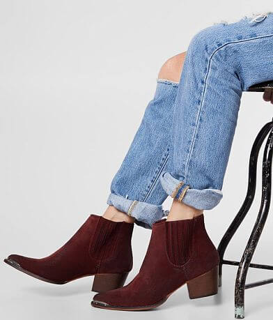 ARider Girl Dolly Western Heeled Ankle Boot