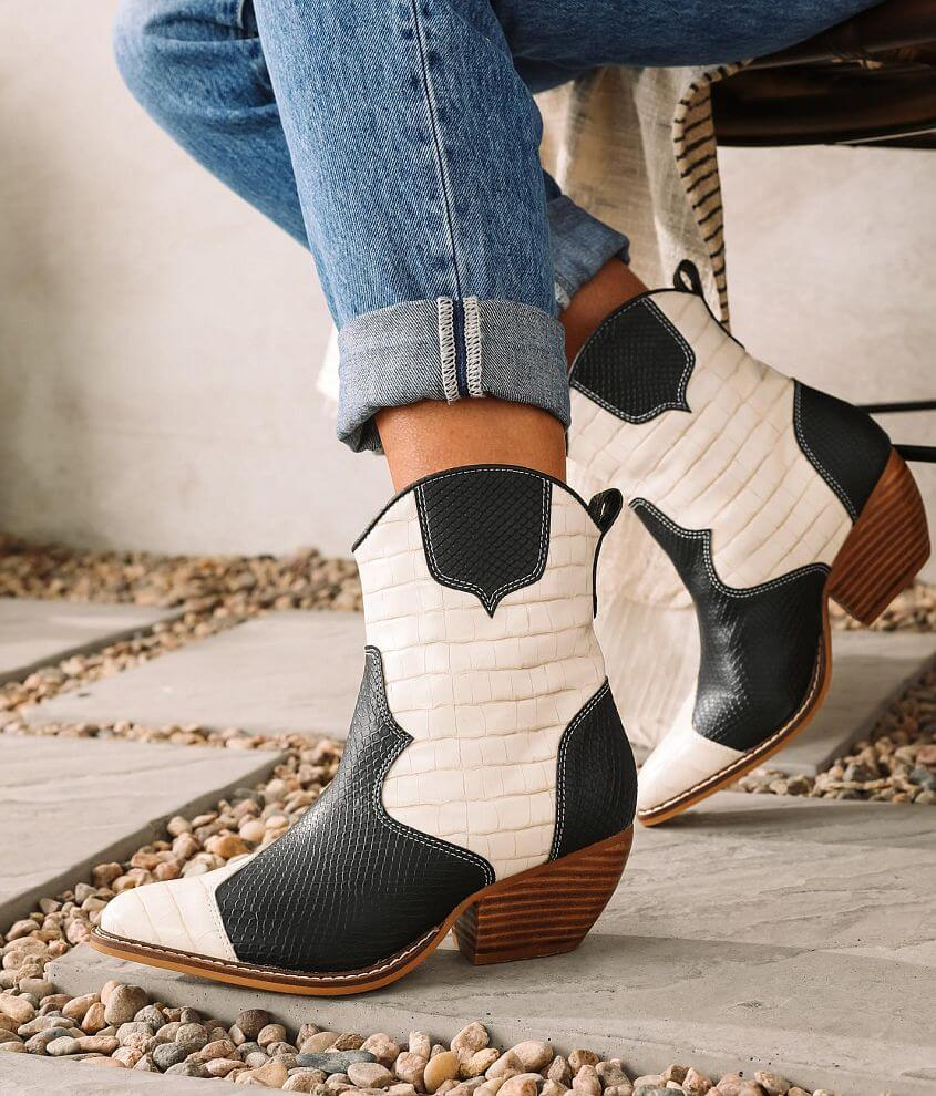 ARider Eden Western Inspired Ankle Boot front view