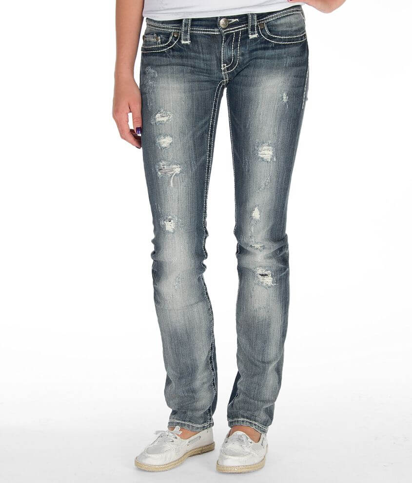 BKE Stella Straight Stretch Jean front view