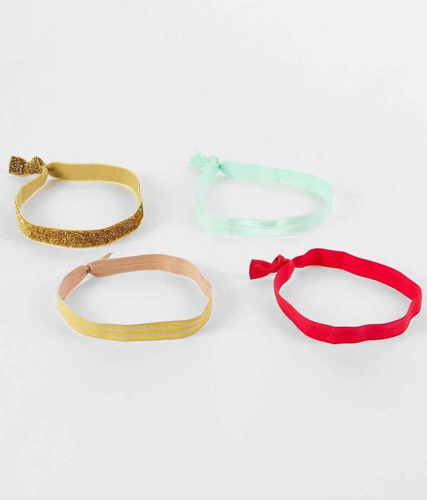 Daytrip Glitter & Stripe Headband Set front view