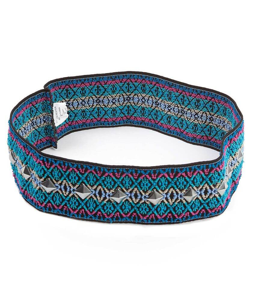 Daytrip Embroidered Headband front view