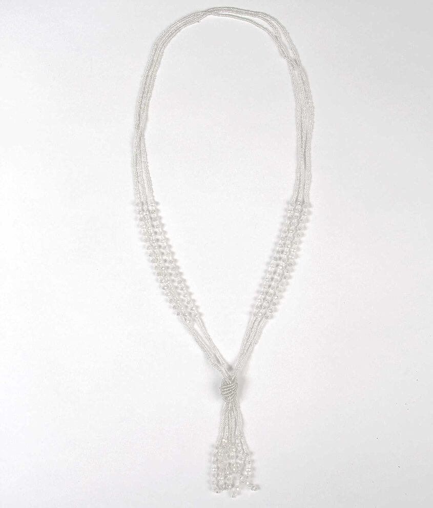 Daytrip Seed Bead Necklace front view