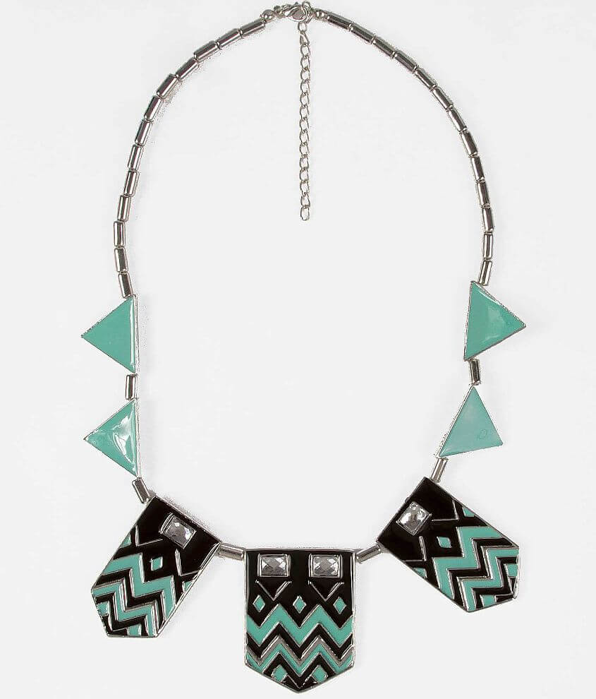 Daytrip Beaded Southwestern Necklace front view
