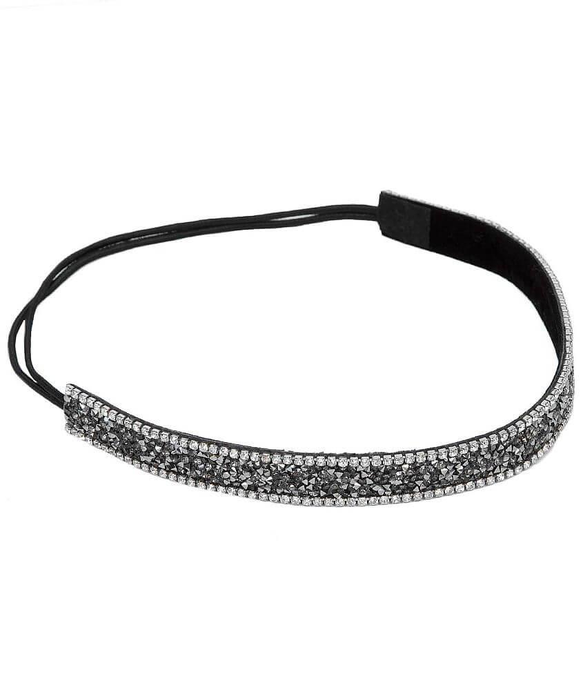BKE Rhinestone Headband front view