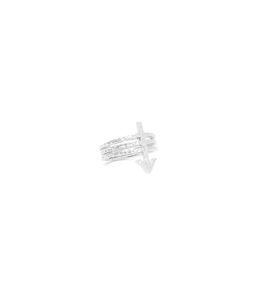BKE Arrow Midi Ring front view