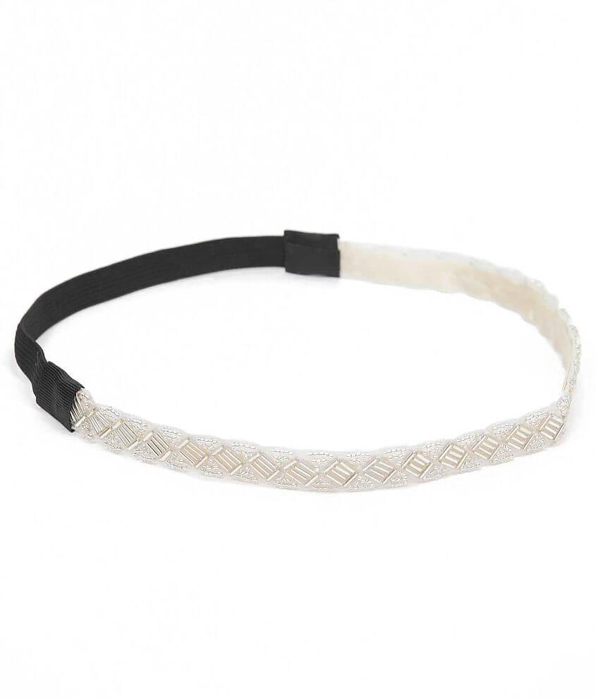 BKE Seed Bead Headband front view