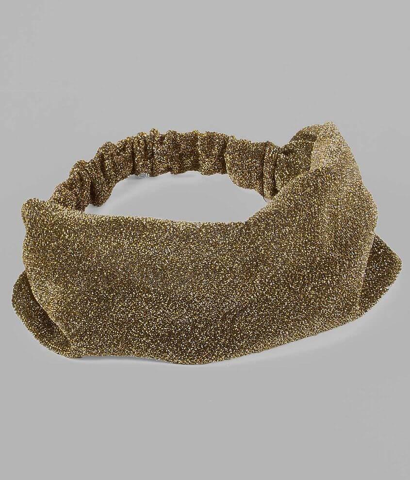 Daytrip Metallic Thread Headband front view