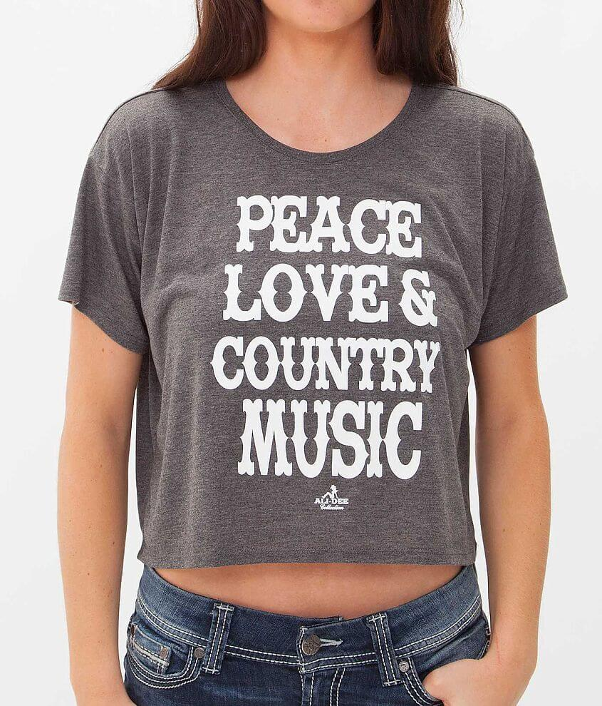 Ali Dee Collection Country Music T-Shirt front view